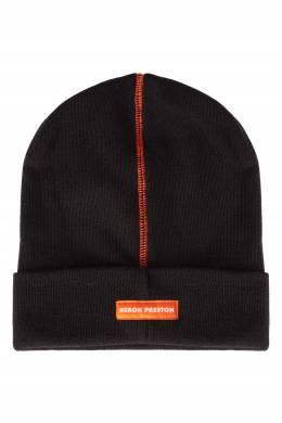 Черная шапка с надписью Heron Preston 2771148105