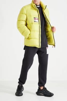 Зеленая стеганая куртка Heron Preston 2771148106