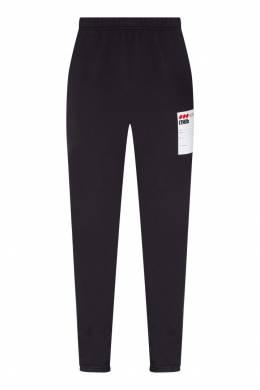 Черные брюки с контрастной отделкой Heron Preston 2771148109