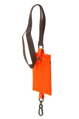 Оранжевая сумка с длинным ремнем Heron Preston 2771148095