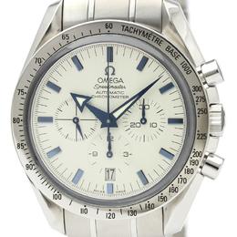 Omega White Stainless Steel Speedmaster Broad Arrow Steel 3551.20 Men's Wristwatch 42MM 220920