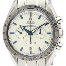 Omega White Stainless Steel Speedmaster Broad Arrow Steel 3551.20 Men's Wristwatch 42MM 220912