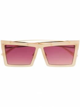 Self-Portrait - солнцезащитные очки в прямоугольной оправе 0S669953886930000000