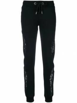 Philipp Plein - брюки с кружевными вставками 6365PXV639N908559960