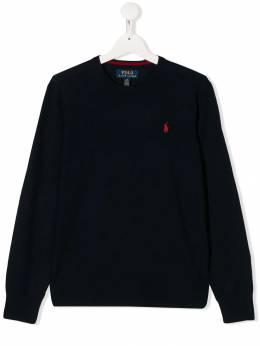 Polo Ralph Lauren джемпер с вышитым логотипом 323749887