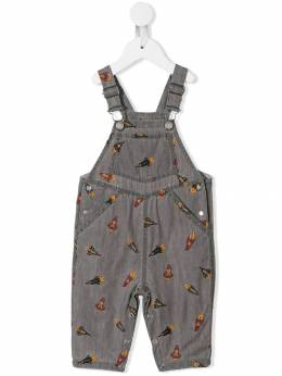 Stella McCartney Kids комбинезон с вышивкой 566368SNK51