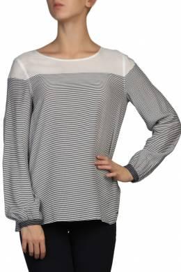 Блуза в полоску на кокетке Tommy Hilfiger 2838148759