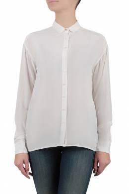 Белая блуза с присборенными рукавами Tommy Hilfiger 2838148950