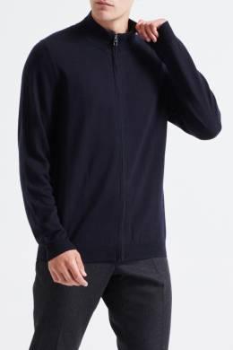 Темно-синий свитер с молнией Pal Zileri Lab 3013148885