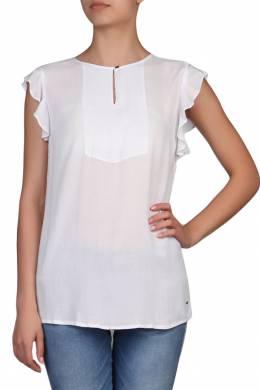 Блуза с кокеткой и оборками Tommy Hilfiger 2838148974