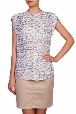 Блуза с разноцветным принтом Tommy Hilfiger 2838149067