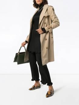 Givenchy - брюки со складками и оборками 6F990539390333000000