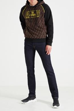 Синие джинсы из эластичного денима Fendi 1632149478