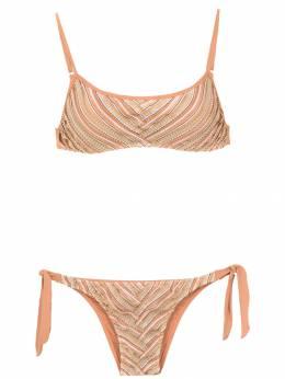 Amir Slama printed bikini top 10765