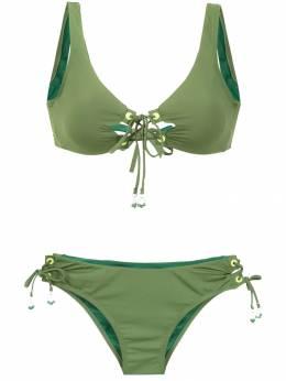 Amir Slama lace up bikini 10696