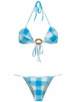 Adriana Degreas checked bikini set V19BICT0768