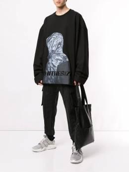Juun.J - спортивные брюки в тонкую полоску 9P335959869890000000