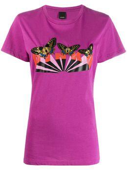 Pinko футболка с логотипом 1B147FY5BDY98
