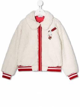 Dolce & Gabbana Kids - шуба из искусственного меха BI8FUP96953909090000