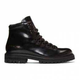 Common Projects Black Hiking Boots 192133M22500407GB