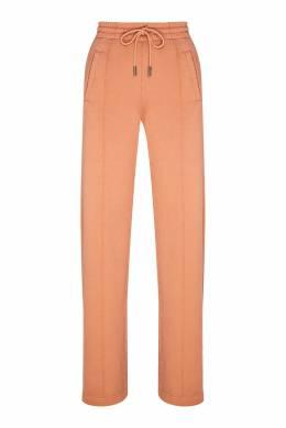 Розовые брюки из хлопка Off-White 2202148897