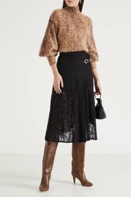 Кружевная юбка со складками Maje 888149617