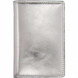 Common Projects Silver Folio Wallet 9134