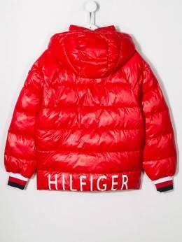 Tommy Hilfiger Junior - пуховик с капюшоном KG65596T955355680000