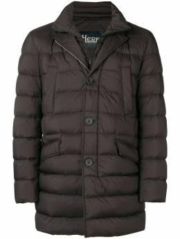 Herno - куртка прямого кроя 63ULE990889336393600
