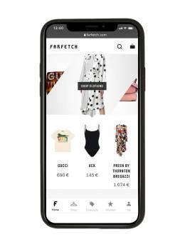 Dolce&Gabbana - чехол для iPhone X с металлическим логотипом 568AZ660956869360000