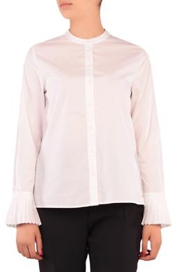 Белая блузка с воланами на рукавах Tommy Hilfiger 2838149917