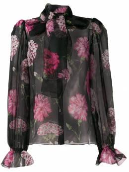 Dolce & Gabbana - блузка с цветочным принтом 95THS93Y955665990000