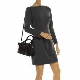 Tory Burch Black Leather Tote 218168
