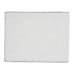 Common Projects White Cracked Standard Wallet 9135