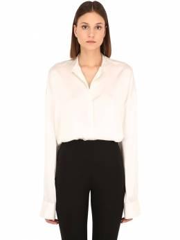 Oversize Silk Satin Shirt Haider Ackermann 70IA7U009-MDAz0
