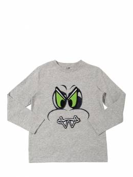 Футболка Из Хлопка С Принтом Stella McCartney Kids 70I6SJ020-MTQ2MQ2