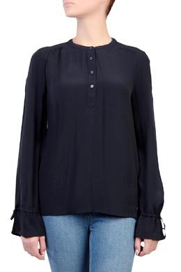 Синяя блузка с воланами Tommy Hilfiger 2838150187