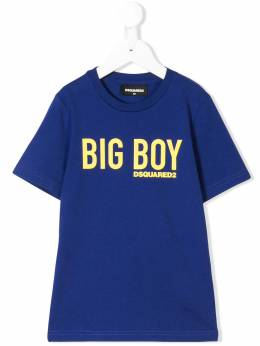 Dsquared2 Kids - футболка 'Big Boy' с логотипом 3A0D66MQ935006660000