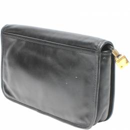 Loewe Black Leather Clutch Bag 221515