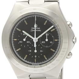 Omega Black Stainless Steel Speedmaster German Cal.861 145.0040 Men's Wristwatch 44MM 220952