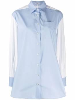 Loewe - строгая рубашка со вставками 99566SC9533039000000