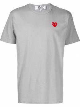 Comme Des Garcons Play футболка с вышивкой P1T212