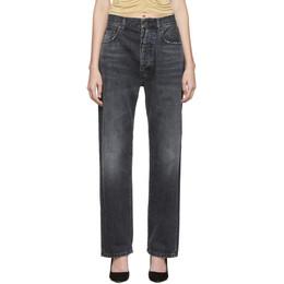 Unravel Black Baggy Boy Jeans 192806F06901706GB