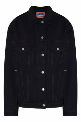 Джинсовая куртка черного цвета Acne Studios 876148509