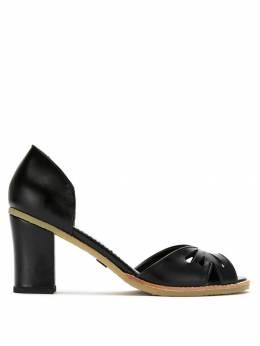 Sarah Chofakian leather pumps VALENCIAGR55BORRA