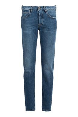 Прямые синие джинсы Eleventy 2014149818