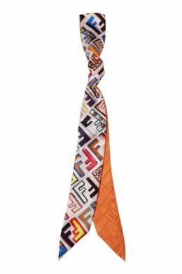 Яркий шарф с принтом Fendi 1632150457