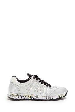 Серебристые кроссовки Lucy Premiata 827150581