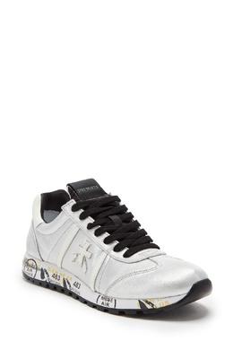 Серебристые кроссовки Lucy-D Premiata 827150581
