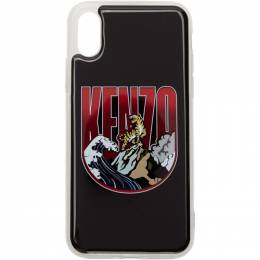 Kenzo Black Tiger Mountain iPhone X/XS Case 192387M15300901GB